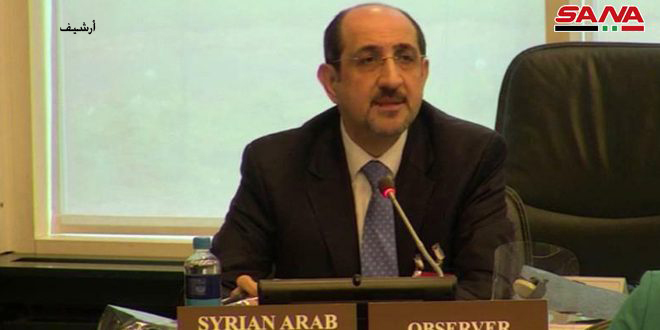 Ambassador Sabbagh: Syria has fulfilled its obligations regarding the Chemical Weapons' Convention