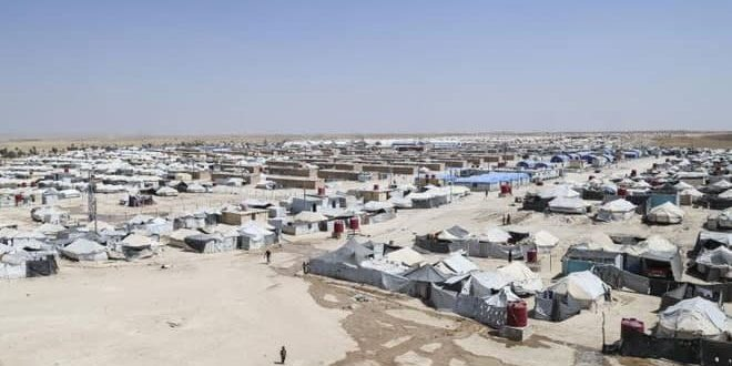 A child dies due to lack of medical care in QSD-controlled al-Hawl Camp
