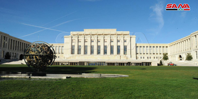 Committee of Discussing Constitution continues fourth round meetings in Geneva for 3rd day