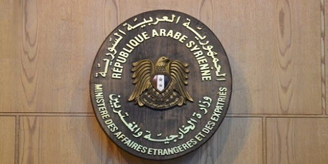 Foreign Ministry: Syria strongly condemns US occupation forces' aggressive practices in al-Jazeera, calls for immediate and unconditioned withdrawal from its territories