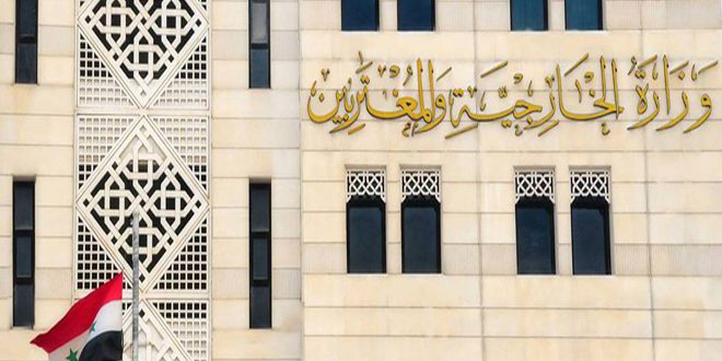 Syria strongly condemns twin terrorist attacks of Baghdad
