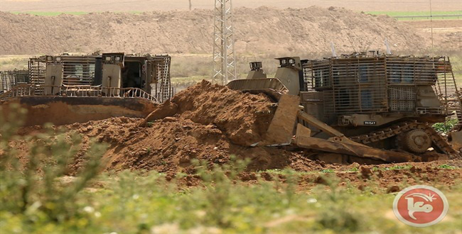 Occupation forces raze Palestinian lands in Bethlehem