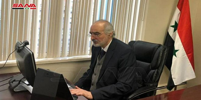 Jaafari: Syria counts on G77 valuable support on putting an end to looting its natural resources and foreign occupation