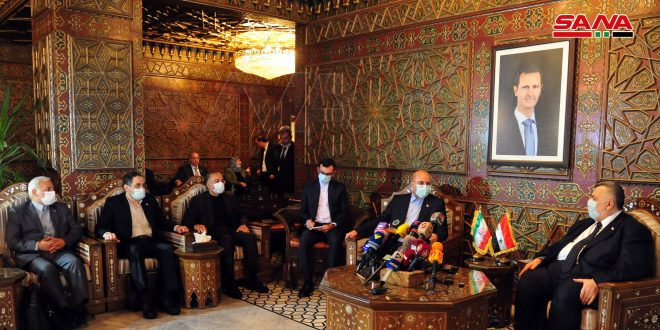 Syria, Iran to develop parliamentary ties