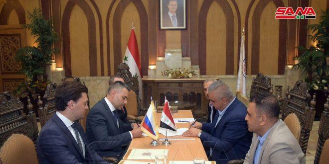 Syrian Civil Aviation Authority, Russian Aviadillo company sign memo of understanding