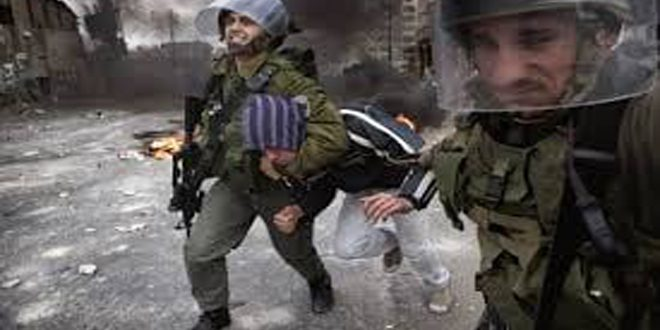 Six Palestinians injured, two arrested as Israeli occupation storm the West Bank