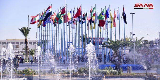 En fotos: Séptimo día de la 61ª edición de la Feria Internacional de Damasco