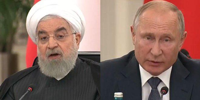 Rohani y Putin: Necesidad de preservar la unidad y soberanía de Siria