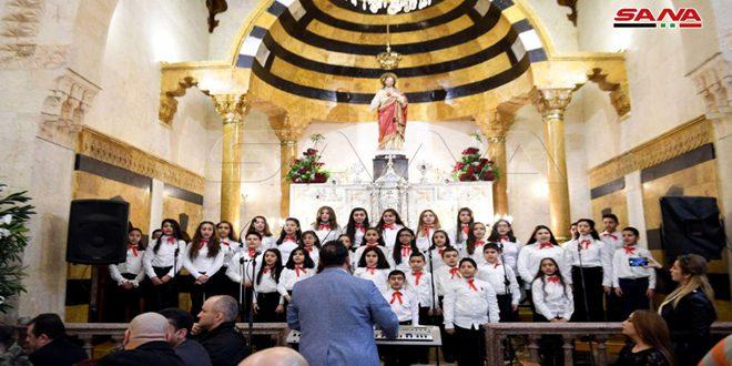 Reapertura de la catedral católico-armenia en Alepo