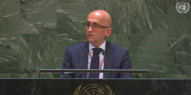 Arsan: los esfuerzos de la ONU seguirán siendo frágiles mientras haya medidas coercitivas y embargo contra el pueblos sirio