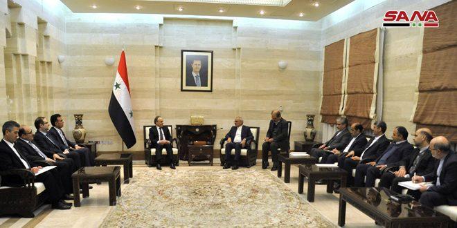 Siria e Irán debaten vías de blindar la cooperación en materia educativa y científica