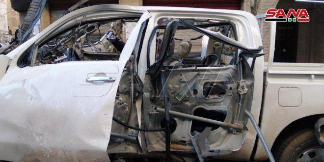 Dos peatones resultan heridas en explosión de una bomba en Damasco