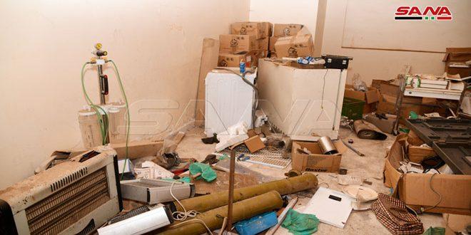 Misiles TOW y medicamentos saudíes y qataríes en hospital abandonado por terroristas al oeste de Alepo