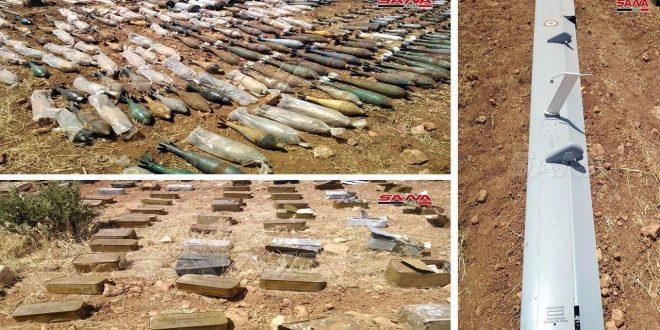 Ejército incauta dron turco y armas en cuarteles dejados por terroristas en Idleb