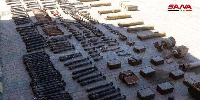 Ejército sirio incauta municiones y aparatos de telecomunicación en un escondite del Daesh en Deir Ezzor