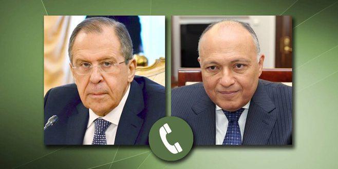 Cancilleres de Rusia y Egipto abogan por una solución política a la crisis siria