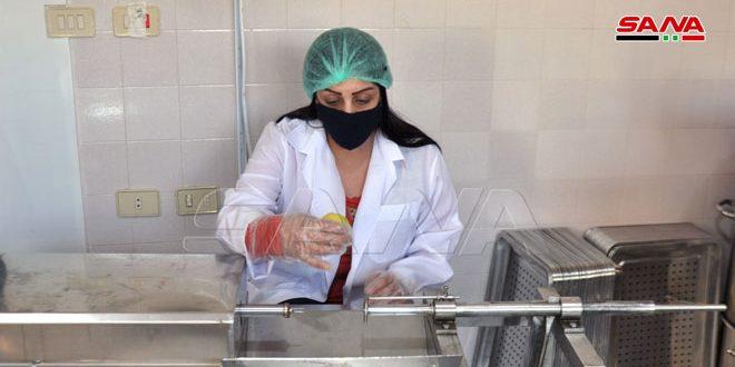 En fotos: Mini fábrica de deshidratación de frutas en el pueblo de Sahwat al-Blata