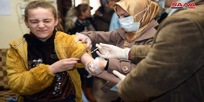 Alepo inicia campaña de vacunación que abarca a 129.000 alumnos