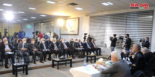 Ministro al-Zamil denuncia que el bloqueo económico agravó situación del sector eléctrico en el país