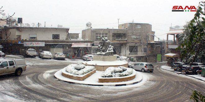 FOTOS: El Golán sirio ocupado hoy miércoles, 20 de enero 2021