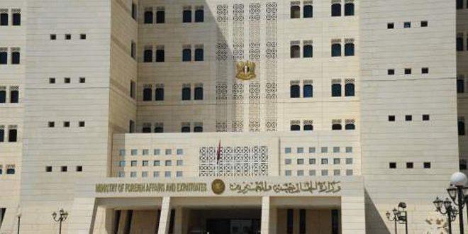 """سوریهاز شورای امنیتخواسته است که مسئولیت منع جنایات """"ائتلاف بین المللی""""را بر عهده بگیرد"""