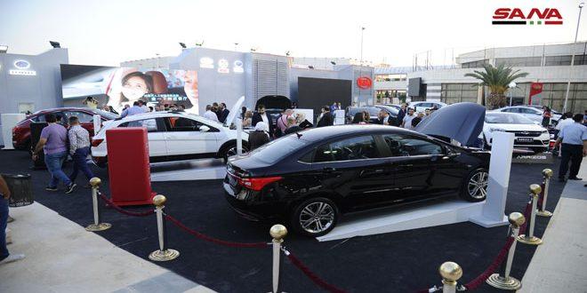 حضور پررنگ خودروهای تولید داخل در نمایشگاه بینالمللی خودرو و دیگر وسایل نقلیه دمشق