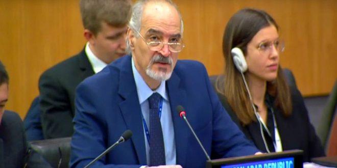 تاکید جعفری بر لزوم رفع اقدامات اقتصادی یکجانبه تحمیل شده علیه سوریه