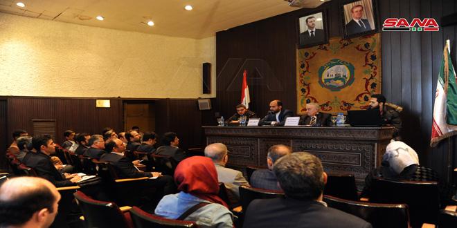 بررسی تقویت همکاری اقتصادی و تجاری میان سوریه و ایران