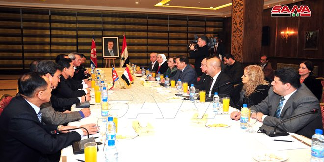 آغاز به کار نشست کمیته مشترک اقتصادیسوریهو کره دموکراتیک در دمشق