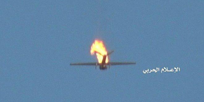 یمن: انهدام پهپاد جاسوسی متجاوز سعودی در محور جیزان