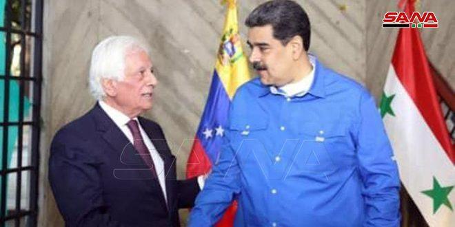 نیکلاس مادورو: سوریه ای که بر تروریسم پیروز شد، سزاوار صلح است