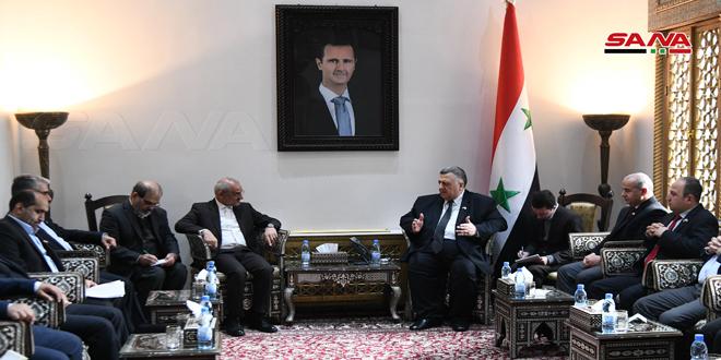 رئیس پارلمان کشورمان: روابط سوریه و ایران ریشه دار است