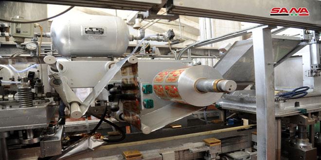 اغاز به کار مجدد کارخانه لبنیات دمشق… راه اندازی خطوط تولید وامضای قرارداد با قیمت 1 میلیارد لیر
