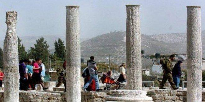یورش نظامیان صهیونیست به روستای سبسطیه شمال نابلس
