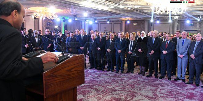 مراسم هفتاد و یکمین سالگرد «روز جمهوری هند» در دمشق برگزار شد