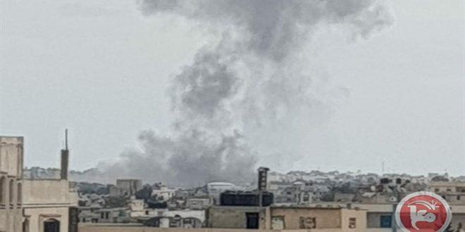 تجاوز مجدد جنگنده های رژیم اشغالگر به نوار محاصره شده غزه
