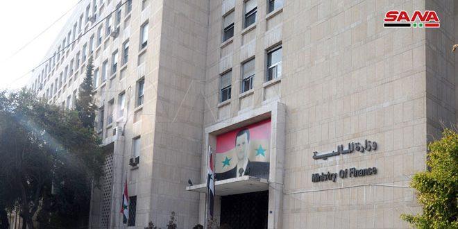 بیانیه ای وزارت دارایی کشور در مورد تصمیم شورای وزیران مبنی بر اقدام شهروندان سوری بازگشته از خارج به تبدیل مبلغ 100 دلار یا هر ارزی دیگری برابر با آن به نرخ بانک مرکزی