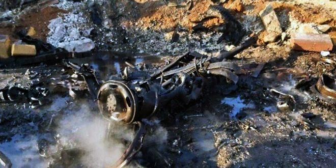 زخمی 4 نفر در پی انفجار یک ماشین بمبگذاری شده در حومه شمالی شرقی حلب