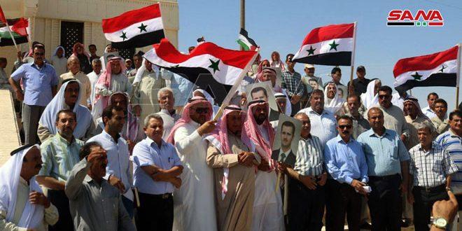 فرزندان عشایر سبخه: ازهر جنبش مقاومت برای آزادسازی خاک سوریه از اشغالگران حمایت می کنیم