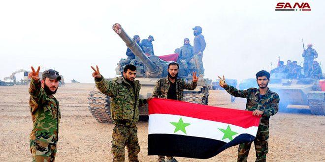 حزب عربی مصر: ارتش سوریه با پیروزی های خود استکبار آمریکا را از بین برد