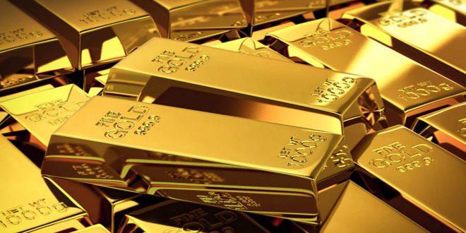 همزمان با تقویت ارزش دلار قیمت طلا شاهد کاهش بود