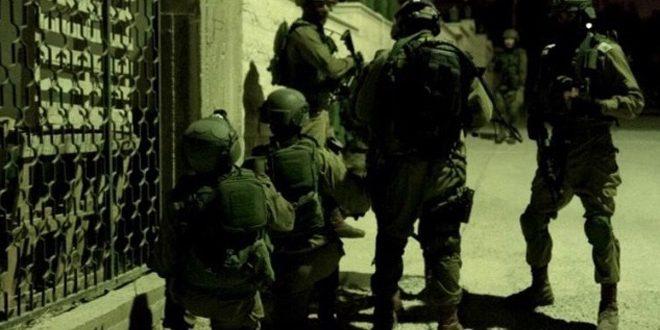 بازداشت /8/ فلسطینی در کرانه باختری از سوی نیروهای اشغالگر
