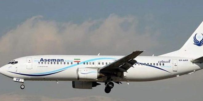 فرود اضطراری یک هواپیمای ایرانی در زاهدان
