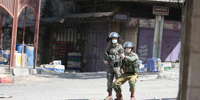 جراحت ده ها فلسطینی در حملات اشغالگر اسرائیل به کفر قدوم و الخلیل