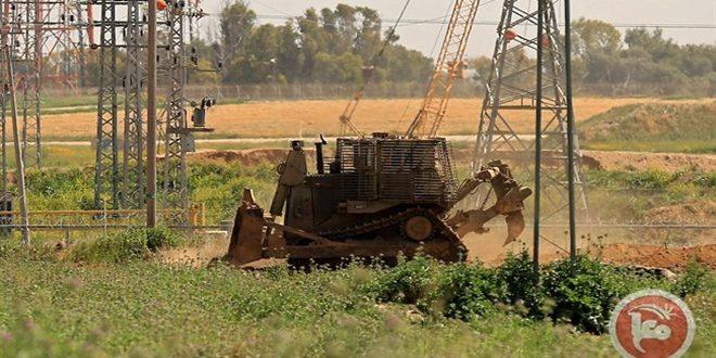 بولدوزرهای رژیم اشغالگر وارد نوار غزه شدند