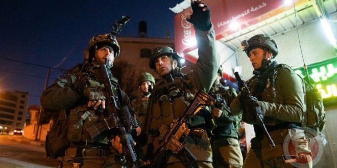 بازداشت دو فلسطینی در جنین از سوی نیروهای اشغالگر