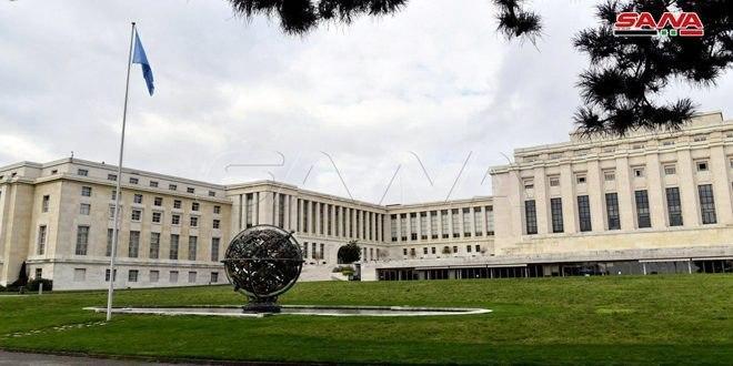 مسایل انسانی و رفع اقدامات یک جانبه محور اصلی گفتگو های هیات سوری در ژنو بود