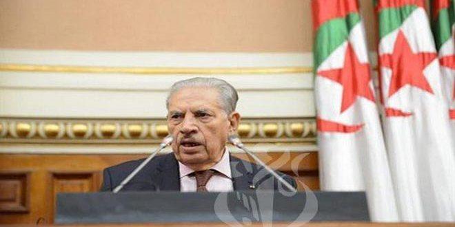 صالح قوجیل رئیس جدید مجلس امت الجزایر