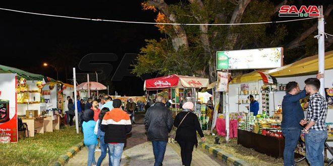 گشایش بازارچه خیریه رمضان در لاذقیه