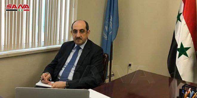 سوریه: حملات مکرر اسرائیل ثبات منطقه و صلح و امنیت بین المللی را تهدید می کند